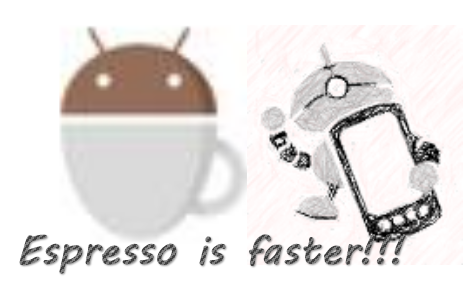 espresso automation tool is good than appium