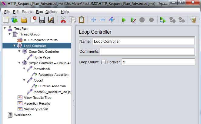 HTTP Request Plan in JMeter – Advanced (Series