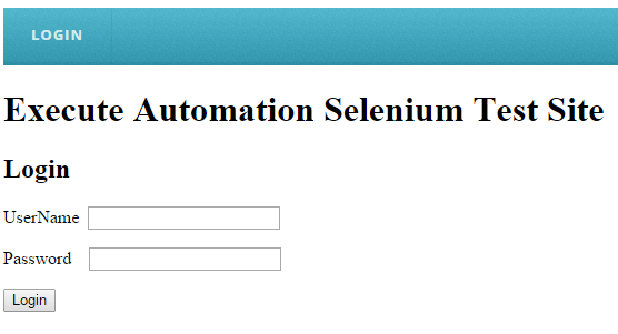 Mouse hover and click in Selenium – ExecuteAutomation