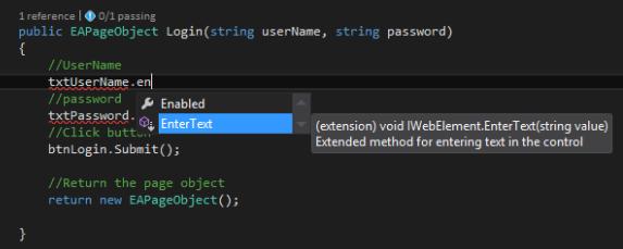 IWebElement – ExecuteAutomation
