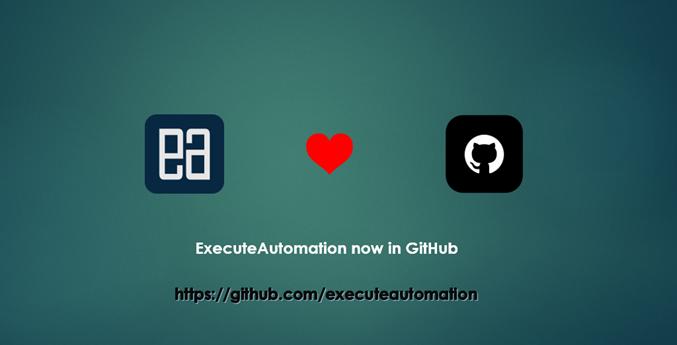 Github – ExecuteAutomation